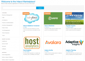 Introducing the New Intacct Marketplace
