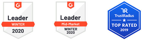G2crowd-Badge Leader Mid-Market Winter 2020