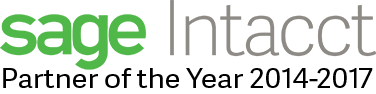 AcctTwo is Intacct's Partner of the Year for 2014-2016