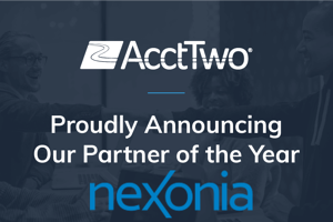 AcctTwo Named Nexonia's Partner of the Year
