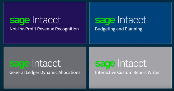 Sage Intacct - Release 4 Highlights - Release 2018 Notes