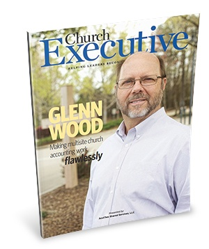 Seacoast Church on the cover of Church Executive Magazine
