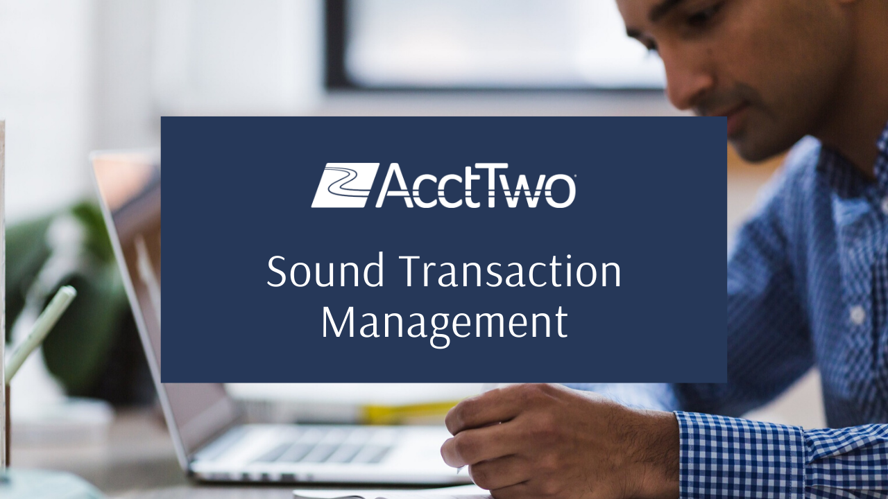 Sound Transaction Management