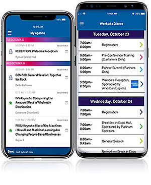 Advantage 2018 Conference Mobile App - AcctTwo