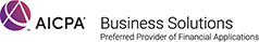 aicpa business solutions - accttwo - preferred provider of financial applications - AICPA Certified Accountants