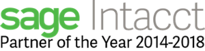 sage Intacct partner of the year accttwo bpo outsourced accounting managed cloud accounting