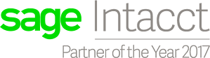 Sage Intacct Partner of the Year 2017