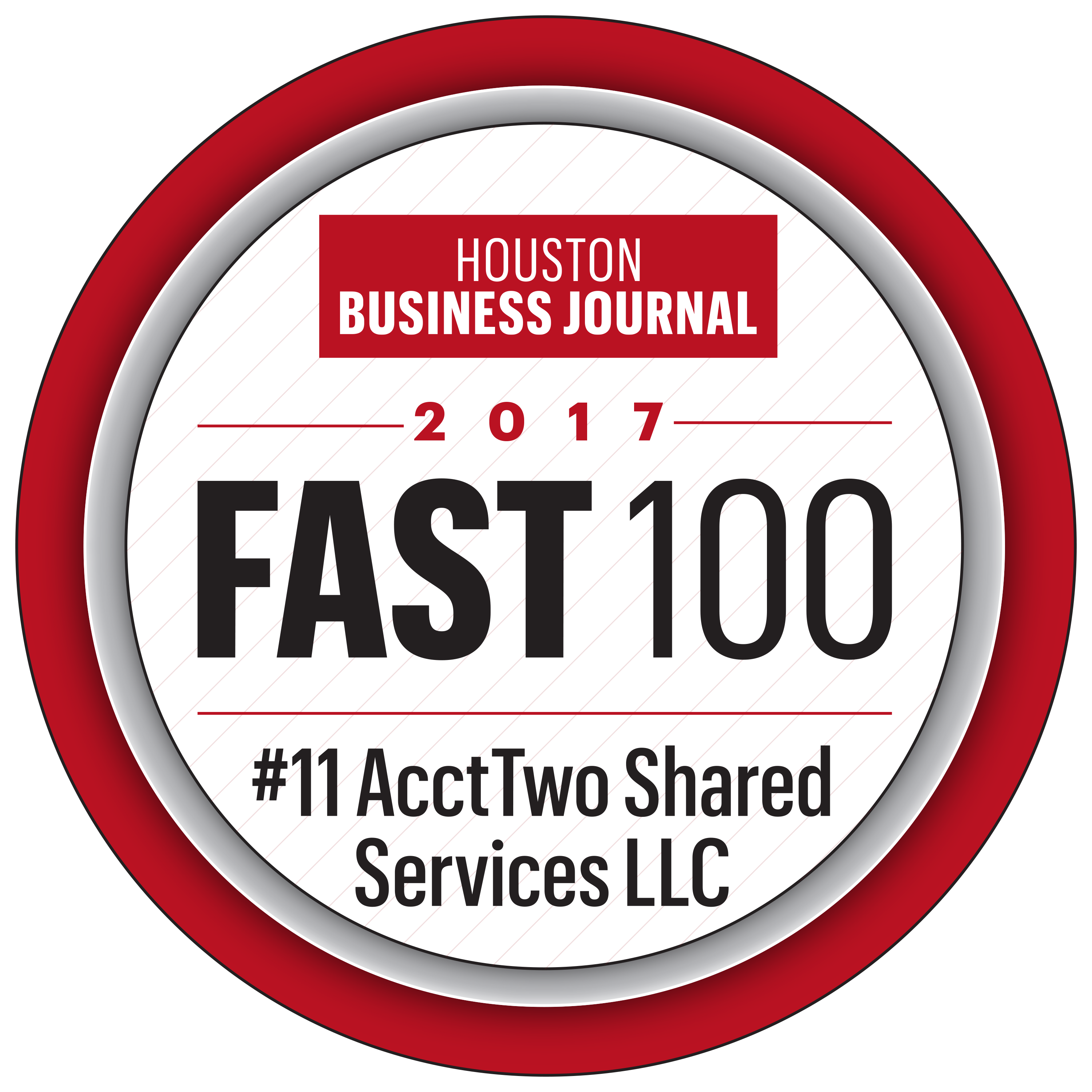 AcctTwo Named to Houston Business Journal's Fast 100 List 2017
