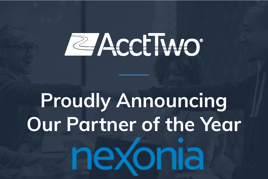 AcctTwo, Nexonia's Partner of the Year, Continues to Deliver the Future of Finance and Accounting
