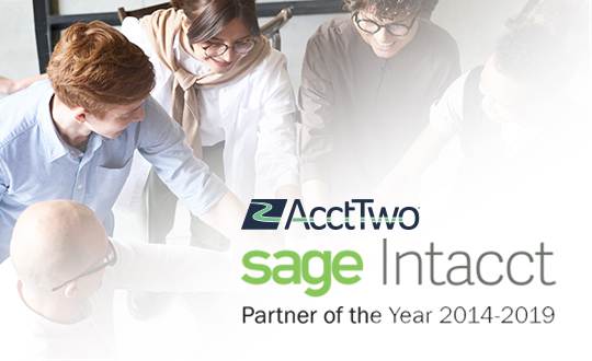 AcctTwo Named Overall Sage Intacct Partner of the Year for 2019