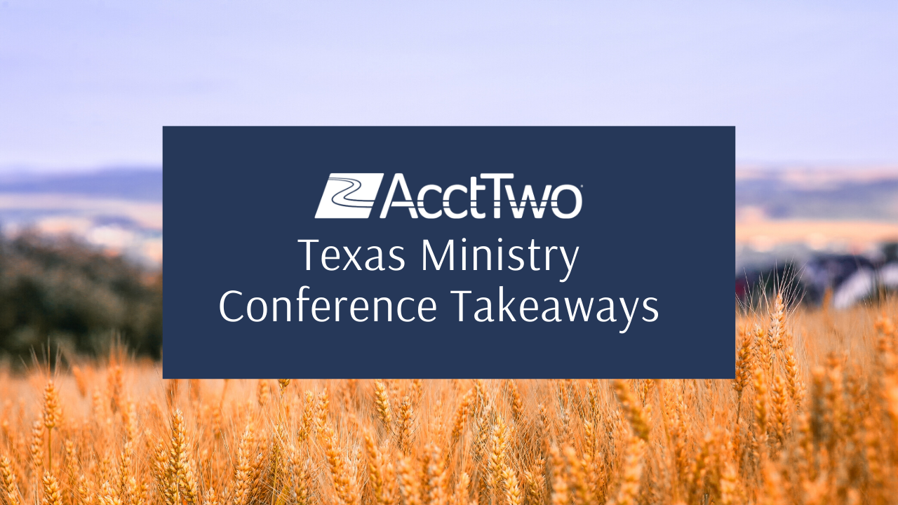 Takeaways from the 2020 Texas Ministry Conference