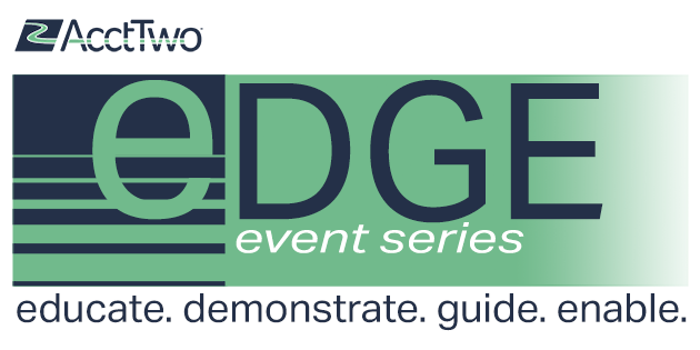 AcctTwo Launches EDGE Event Series