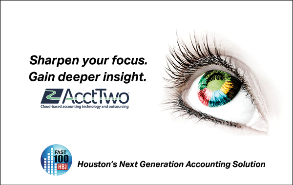 AcctTwo Sponsors Houston BizExpo and Fast 100