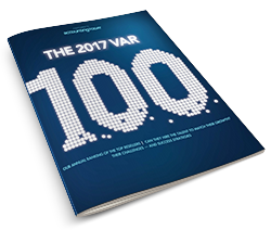 AcctTwo Named to Accounting Today's 2017 VAR 100 for Second Year